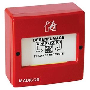 Déclencheur manuel d'alarme incendie (DM)